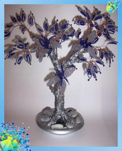 дерево из бисера деревья